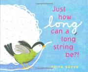 Cover art for JUST HOW LONG CAN A LONG STRING BE?