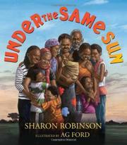 UNDER THE SAME SUN by Sharon Robinson