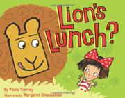 Cover art for LION'S LUNCH?