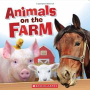 Book Cover for ANIMALS ON THE FARM