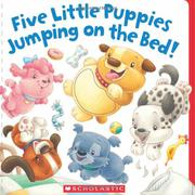 Cover art for FIVE LITTLE PUPPIES JUMPING ON THE BED