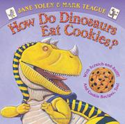 Cover art for HOW DO DINOSAURS EAT COOKIES?