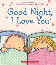 Book Cover for GOODNIGHT, I LOVE YOU