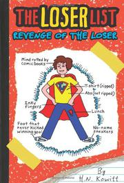 Cover art for REVENGE OF THE LOSER