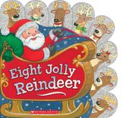 EIGHT JOLLY REINDEER by Ilanit Oliver
