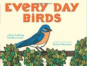EVERY DAY BIRDS by Amy Ludwig VanDerwater
