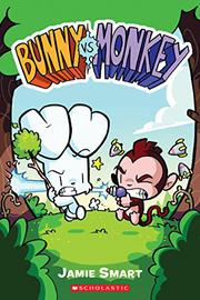 BUNNY VS. MONKEY by Jamie Smart