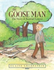 THE GOOSE MAN by Elaine Greenstein