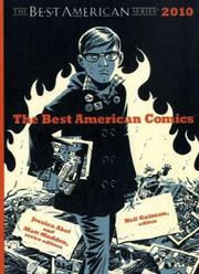 Cover art for THE BEST AMERICAN COMICS 2010