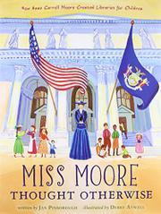Book Cover for MISS MOORE THOUGHT OTHERWISE