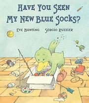 Cover art for HAVE YOU SEEN MY NEW BLUE SOCKS?
