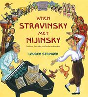 Cover art for WHEN STRAVINSKY MET NIJINSKY