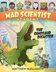 THE DINOSAUR DISASTER by Matthew McElligott