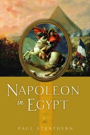 NAPOLEON IN EGYPT by Paul Strathern