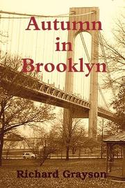 AUTUMN IN BROOKLYN by Richard Grayson