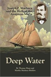 DEEP WATER by Thomas and Martha Macheca Sheldon Hunt