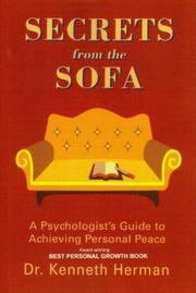 SECRETS FROM THE SOFA by Kenneth Herman
