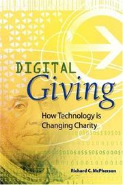 DIGITAL GIVING by Richard C. McPherson