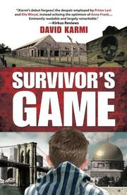 SURVIVOR'S GAME by David Karmi