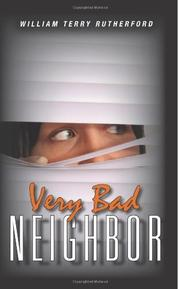 Cover art for VERY BAD NEIGHBOR