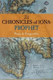 THE CHRONICLES OF IONA: PROPHET by Paula de Fougerolles