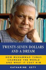 Twenty-Seven Dollars and a Dream by Katharine Esty