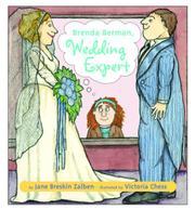 BRENDA BERMAN, WEDDING EXPERT by Jane Breskin Zalben
