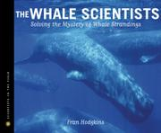 THE WHALE SCIENTISTS by Fran Hodgkins