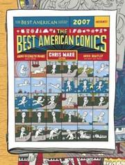 Cover art for THE BEST AMERICAN COMICS, 2007