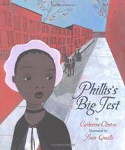 PHILLIS'S BIG TEST by Catherine Clinton