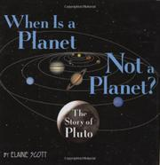 WHEN IS A PLANET NOT A PLANET? by Elaine Scott