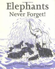 Cover art for ELEPHANTS NEVER FORGET!