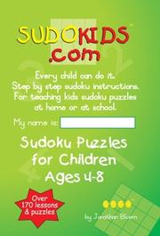 SUDOKIDS.COM by Jonathan Bloom