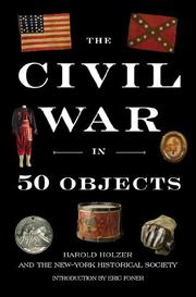 Cover art for THE CIVIL WAR IN 50 OBJECTS