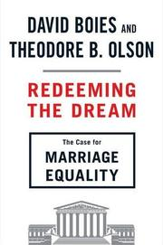 REDEEMING THE DREAM by David Boies