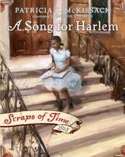 Book Cover for A SONG FOR HARLEM