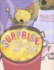 SURPRISE SOUP by Mary Ann Rodman