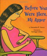 BEFORE YOU WERE HERE, MI AMOR by Samantha R. Vamos