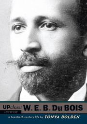 Cover art for UP CLOSE: W.E.B. DU BOIS