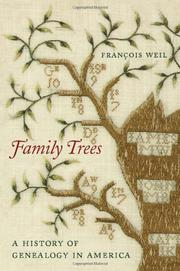 FAMILY TREES by François Weil