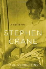 STEPHEN CRANE by Paul Sorrentino