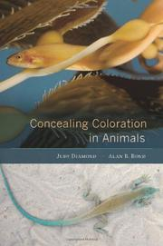 CONCEALING COLORATION IN ANIMALS by Judy Diamond