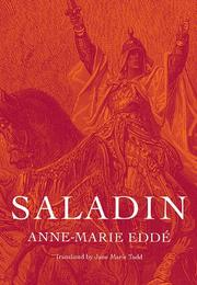 SALADIN by Anne-Marie Eddé