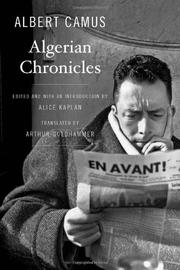 Cover art for ALGERIAN CHRONICLES