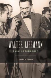 WALTER LIPPMANN by Craufurd D. Goodwin