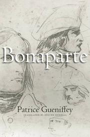 BONAPARTE by Patrice Gueniffey