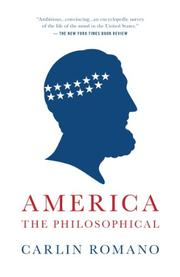 Book Cover for AMERICA THE PHILOSOPHICAL