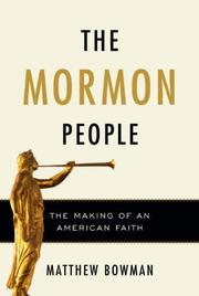 THE MORMON PEOPLE by Matthew Bowman