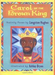 CAROL OF THE BROWN KING by Langston Hughes