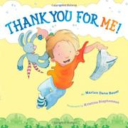 THANK YOU FOR ME! by Marion Dane Bauer